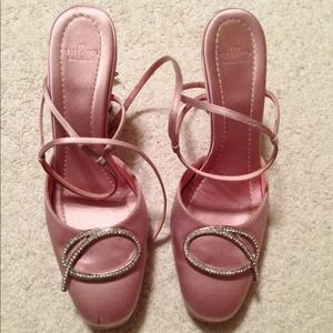 Authentic Valentino satin shoes