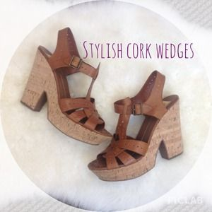 Dolce Vita Shoes - Dolce Vita stylish cork wedges !