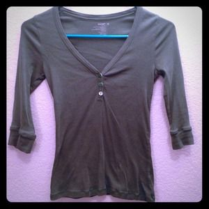Green Old Navy Top