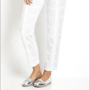 White Walter Baker authur pants