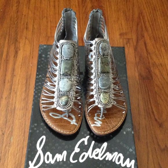 9de23b064f1c5f Sam Edelman Hazel gladiator sandals. M 52851ae1d16c8b52d803b9e6