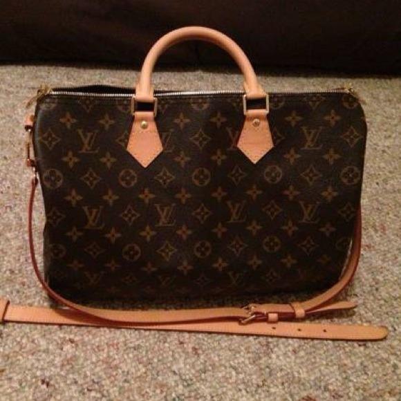 Louis Vuitton Handbags - Authentic LOUIS VUITTON SPEEDY 35 BANDOULIERE 66d70a491fbb5