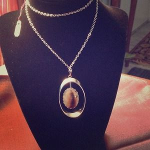 Jewelry - Montana Agate Necklace Reduced!!!
