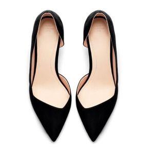 Zara medium heel court shoe w/box