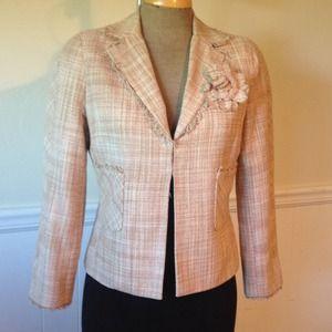 BCBG MaxAzria Silk Jacket