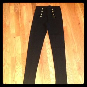 Zara black skinnies