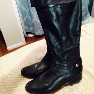 Marc Fisher Boots - Black Leather Boots