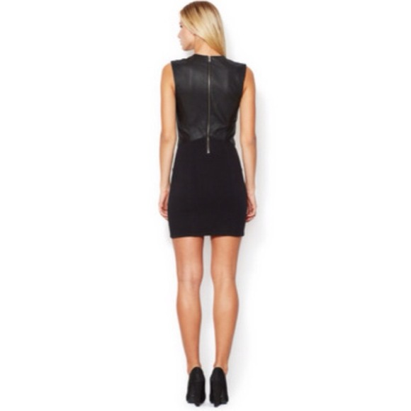 Helmut Lang Dresses & Skirts - ⚡️HELMUT LANG gala sheath dress with leather S⚡️ 3
