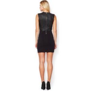 Helmut Lang Dresses - ⚡️HELMUT LANG gala sheath dress with leather S⚡️