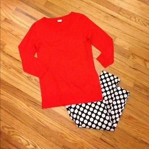 J. Crew Pants - J. Crew polka dot trousers.