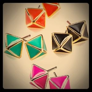 ✨COLOR CHOICE✨  Rebecca Minkoff Stamped Studs