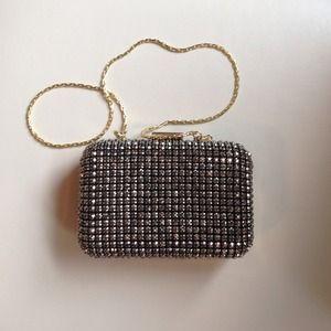 Host Pick New Zara pill box Sparkly handbag.