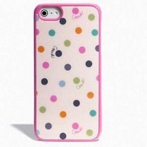 NEW Authentic Coach iPhone 4/4s Case