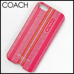 NEW Authentic Coach iPhone 5/5s Case