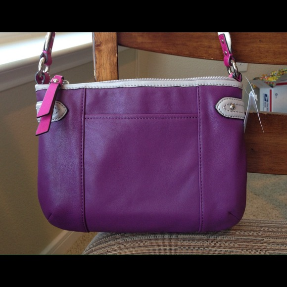 Coach Bags - 100% Auth~Coach Pink~Purple~Silver~Purse~