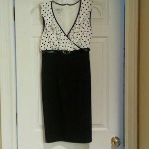 Fun polkadot dress