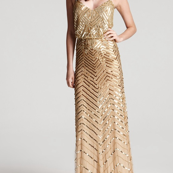 Gold dress 14 hp