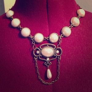 Art Deco Inspired necklace.