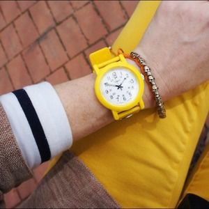 Timex Jewelry - Timex Originals Camper watch in yellow