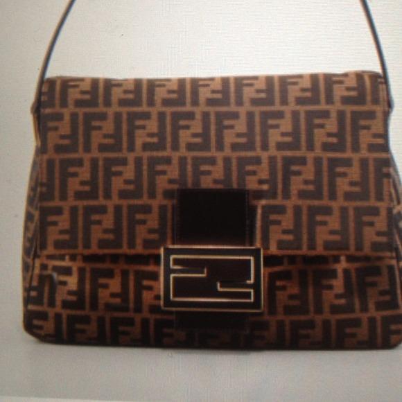 FENDI Mama Mamma Zucca Flap Big bag 5632e9eddb7dd