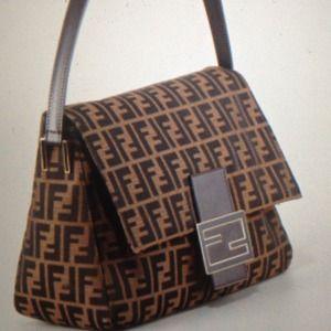4cdaa3dddb8e FENDI Bags - FENDI Mama Mamma Zucca Flap Big bag