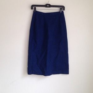 SALE! HP! Vintage plaid skirt