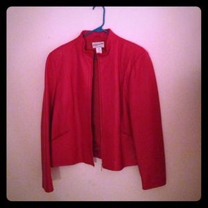 Pendleton Red Leather Jacket