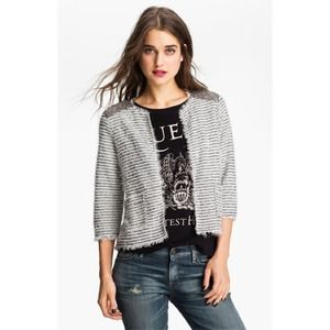 willow & clay Jackets & Blazers - WILLOW & CLAY Boucle Jacket