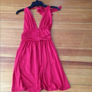 Frederick's of Hollywood  Dresses & Skirts - 🍇Reduced!! Bright Red halter dress size Small