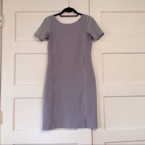 Banana Republic Dresses & Skirts - Thin striped fitted dress from Banana Republic.