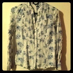 Floral H&M blouse Size 6