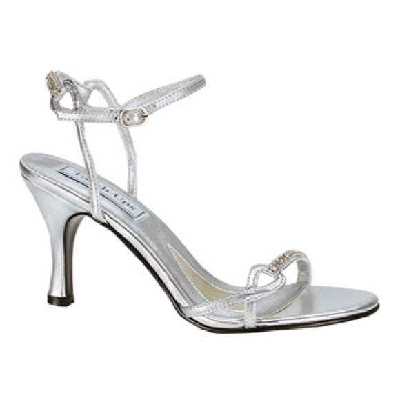 f6f9a2634f3 Touch Ups Shoes - Silver wedding prom rhinestone shoes
