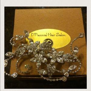 Swarovski crystal headpiece HOST PICK! 1/13