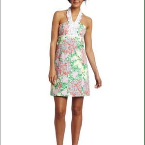 SALE! Isabel Dress In Resort White Mariposa