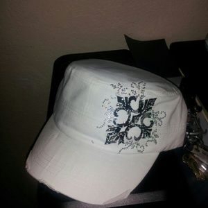 Tan army distressed hat