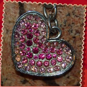 Jewelry - Lovely Crystal Heart Keychain