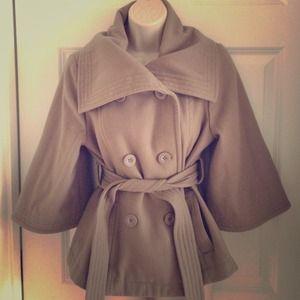 Tan Kimono style jacket