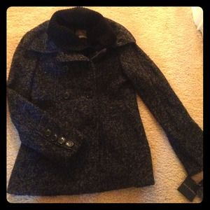 EXCLUSIVE 🎊🎉 Steve Madden Charcoal Winter Coat