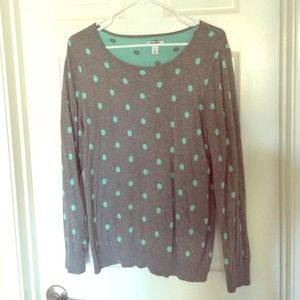 Old Navy Polka dot sweater