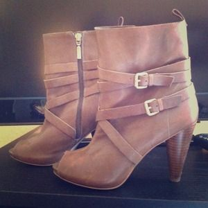 BCBG Girls Tan Booties/ Boots