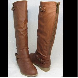 Boots - NEW Brown Fall Fashion Woman's Riding Boots💋