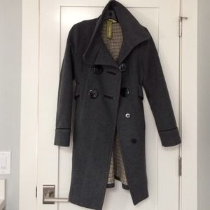 Soia & Kyo Outerwear - soia & kyo gray wool coat