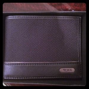 Tumi Double Bifold Wallet