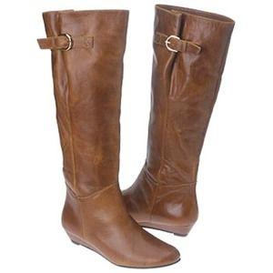 "Steve Madden ""Intyce"" Cognac boots"