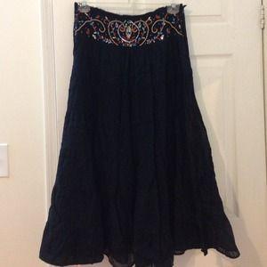 Dresses & Skirts - Black Long Party skirt