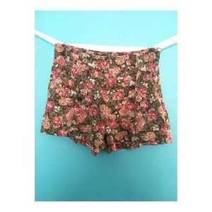 RARE Brandy Melville High Waisted Shorts