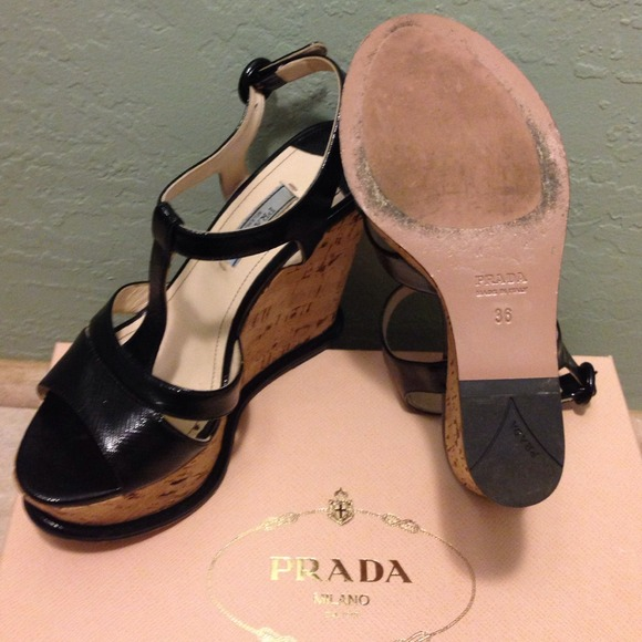 Prada Shoes - PRADA Calzature Donna Cork Wedge 4