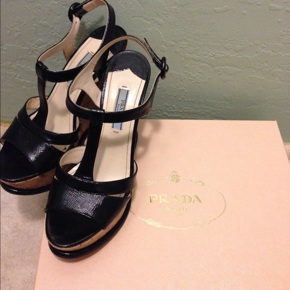 Prada Shoes - PRADA Calzature Donna Cork Wedge