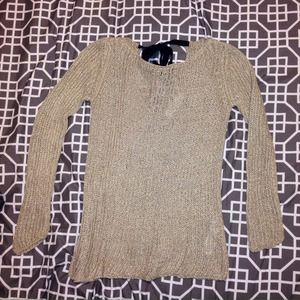 Zara Sweater with Open Back