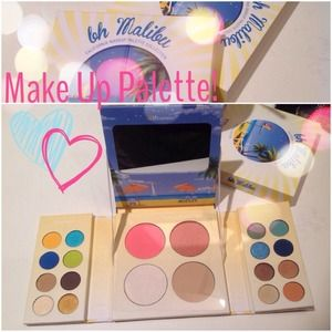 Make Up Palette Shadows, Blush & Bronzer
